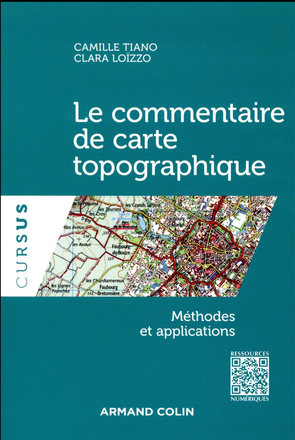 LE COMMENTAIRE DE CARTE TOPOGRAPHIQUE - METHODES ET APPLICATIONS